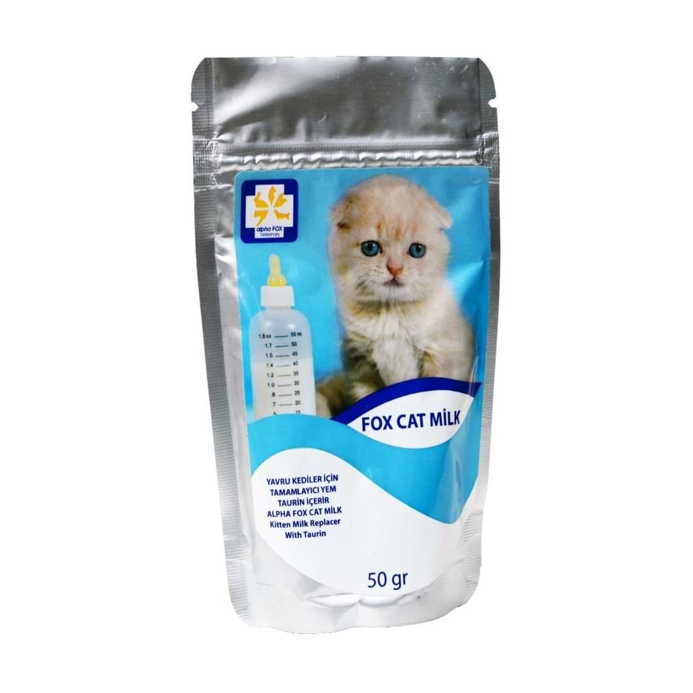 Alpha Fox Veterinary Cat Milk Kedi Sütü 50gr