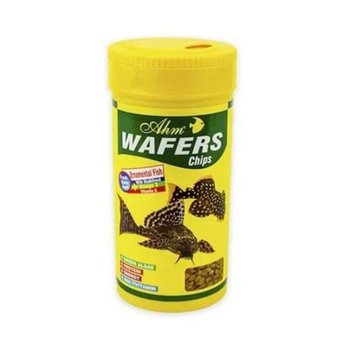 Ahm Wafers Chips Çöpçü Vatoz Balığı Yemi 250ml