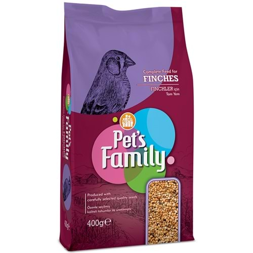 Pets Family Tropical Finch Hint Bülbülü Yemi 400gr
